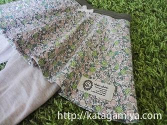 スパッツ付きスカート型紙