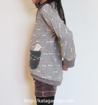 ハンドメイドの子供服型紙-サクサクトレーナー
