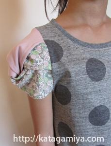 シュー袖プルオーバー子供服型紙